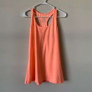 MPG bright orange racerback  workout tank size L